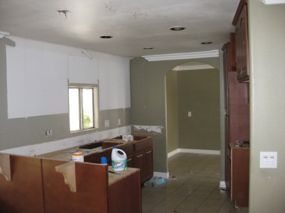 Mobile Home Redo #25 Before Kitchen